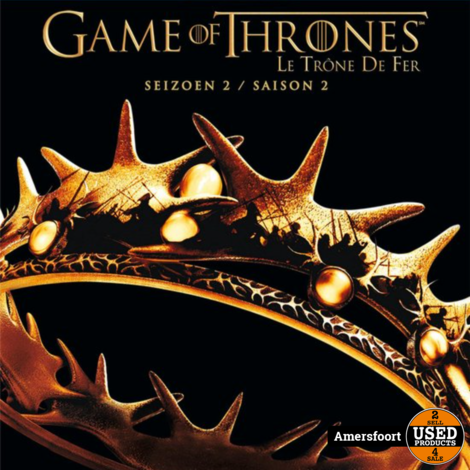 Game of Thrones Seizoen 2 Blu-ray