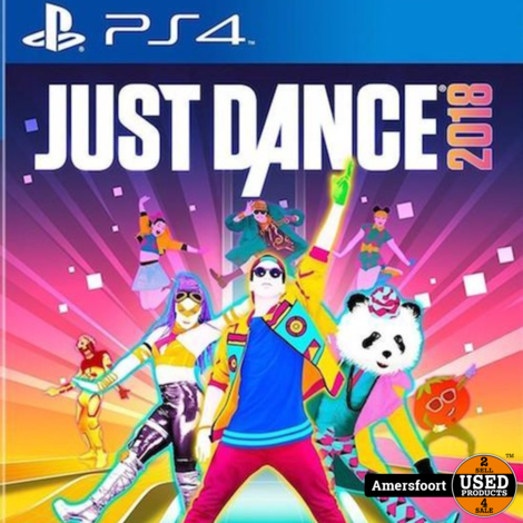 PS4 Just Dance 2018 Playstation 4