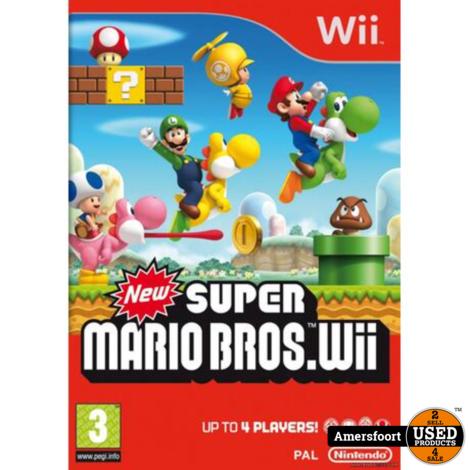 Wii Super Mario Bros Wii Nintendo Wii