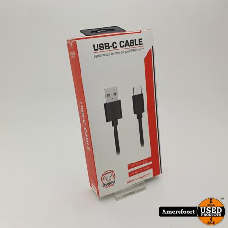 Qware USB-C Kabel 3 meter   Voor Nintendo Switch