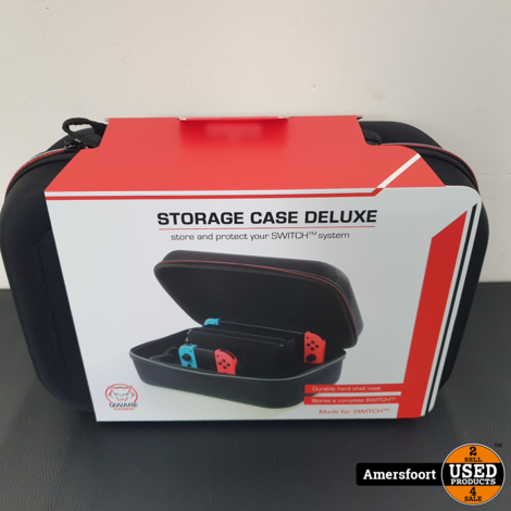 Qware Switch Opberghoes Deluxe   Storage Case Deluxe Nintendo Switch