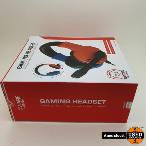 Qware Gaming Headset | Voor Nintendo Switch