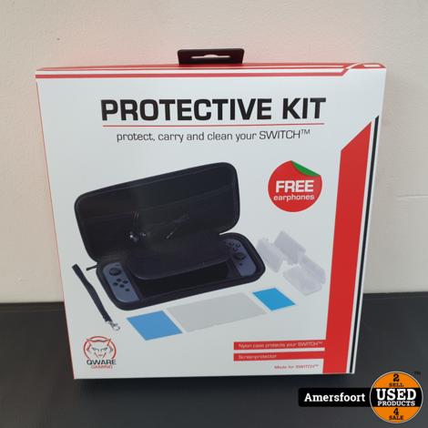 Qware Switch Protective Kit   Complete set voor Nintendo Switch