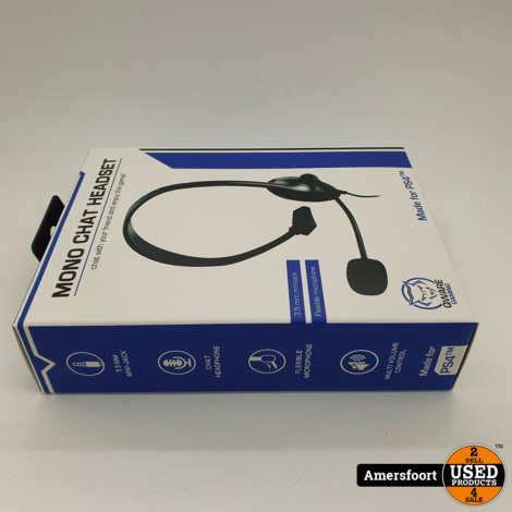 Qware Mono Headset voor Playstation 4