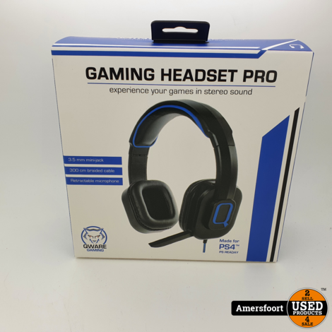 Qware Stereo Gaming Headset Pro Playstation 4