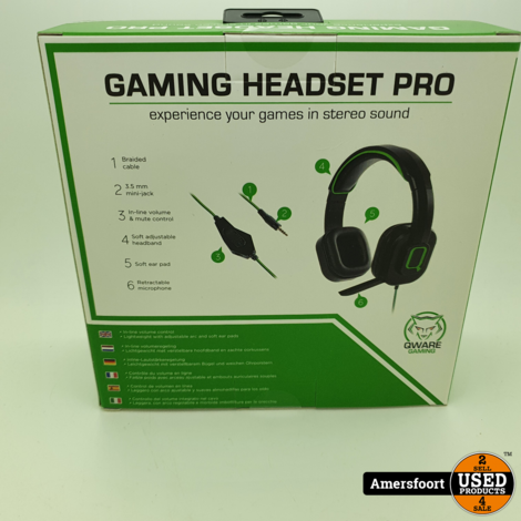 Qware Stereo Gaming Headset Xbox One