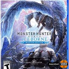 PS4 Monster Hunter World Iceborne master edition Playstation 4