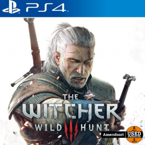 PS4 The Witcher 3 Wild Hunt Playstation 4
