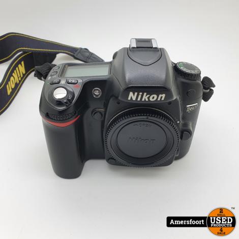 Nikon D80 Body   Spiegelreflex Camera