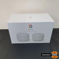 Google Nest Wifi   Wifi Router + Wifi Punt NIEUW