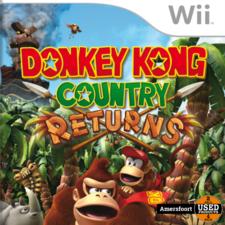 Donkey Kong Country Returns Nintendo Wii