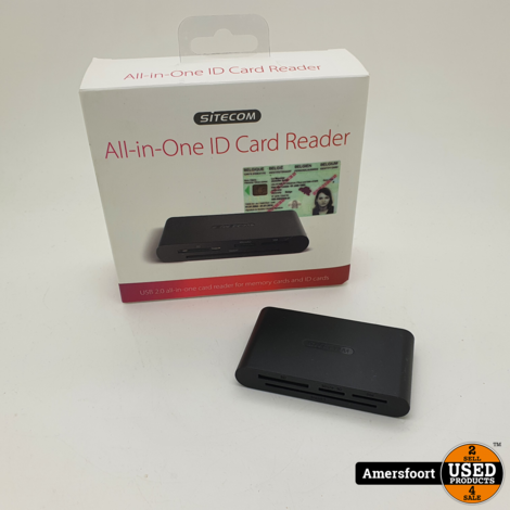 Sitecom All in One ID Cardreader | MD-065