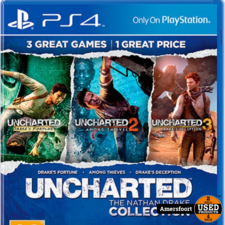 PS4 Uncharted the Nathan Drake Collection Playstation 4