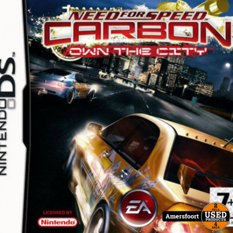 NDS Need for Speed Carbon Own the City Nintendo DS