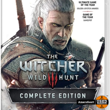 The Witcher 3 Wild Hunt Complete Edition Nintendo Switch