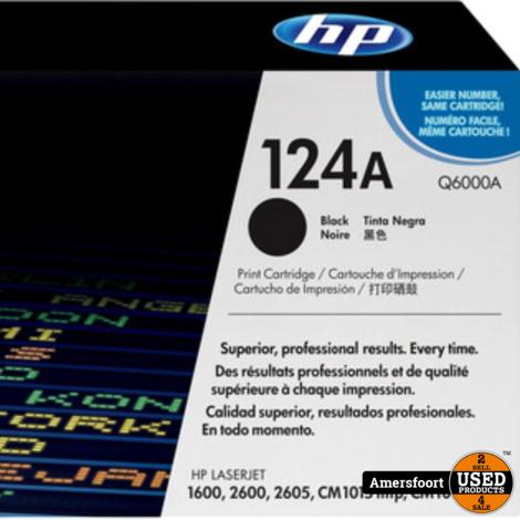 HP Laserjet 124A   Q6000A   Black Noir Toner