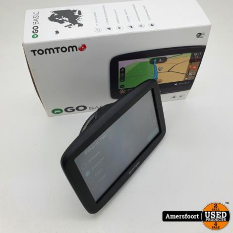 Tomtom Go Basic 5   Lifetime Maps   Navigatiesysteem
