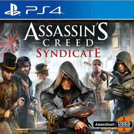 PS4 Assassin's Creed Syndicate Playstation 4