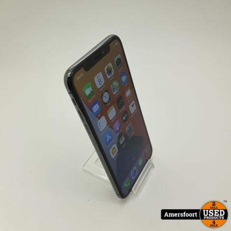 Apple iPhone X 256GB Zwart | Batterij 83%
