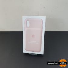 Apple iPhone X(s) XS Smart Battery Case Roze   Nieuw
