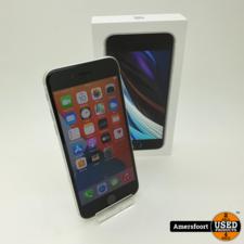 Apple iPhone SE 2020 64GB Zilver   Apple care t/m 26 juli 2022
