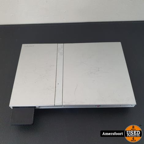 Playstation 2 Slim Zilver