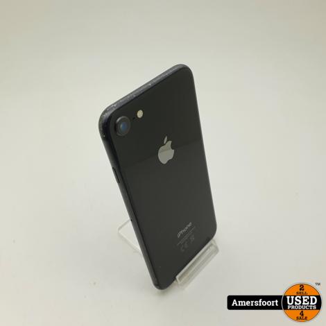 Aple Iphone 8 64GB Zwart   Batterij 84%