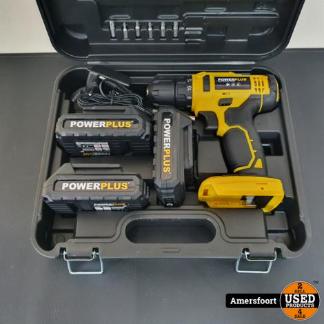 Powerplus Accuboormachine | Nieuw | POWX00500