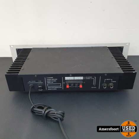 Electric Sound SA-1500 Amplifier
