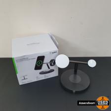 Belkin Boost Charge Pro 3-in-1 Wireless Charger Zwart