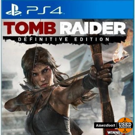PS4 Tomb Raider Definitive Edition Playstation 4