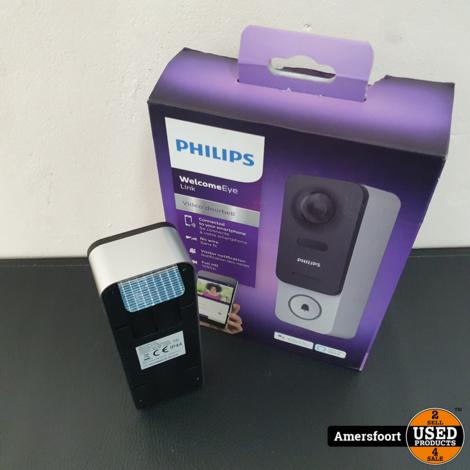 Philips Welcome Eye Link Wifi Deurbel