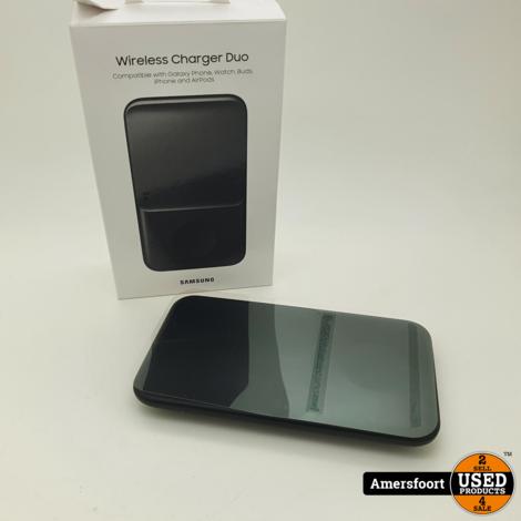 Samsung Wireless Charger Duo Zwart