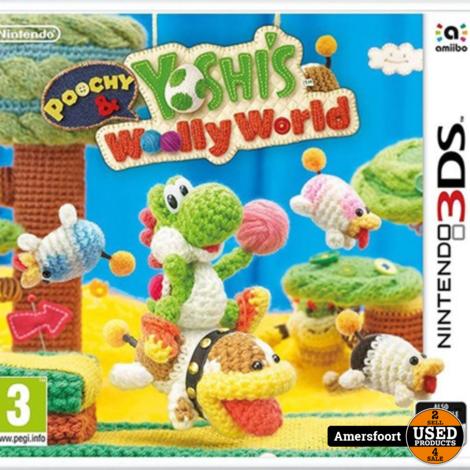 Nintendo 3DS Yoshi's Woolly world