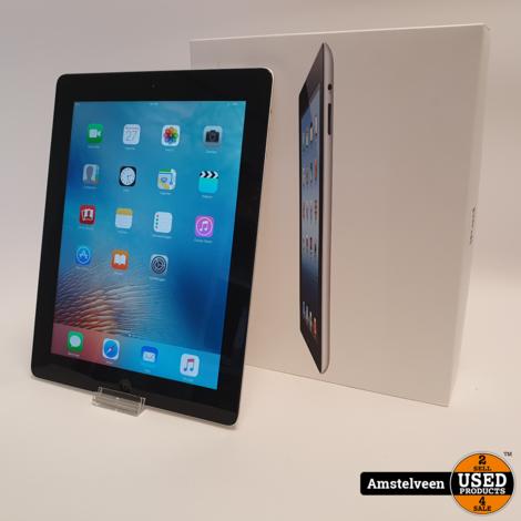 iPad 3 16GB WiFi Silver | incl. Doos & Garantie