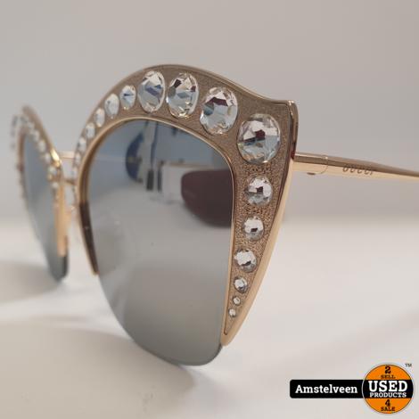 Gucci GG0114S 004 Dames Zonnebril 140 | Nette Staat in Koker