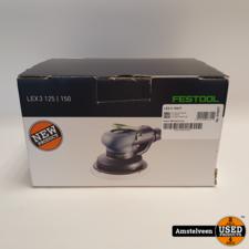 Festool Festool Excenterschuurmachine Perslucht LEX3 150/7 | Nieuw in Doos