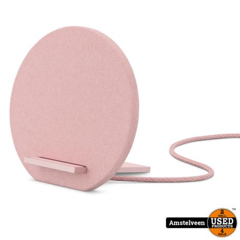 Native Union Fabric draadloze oplader - Roze/Pink | Nieuw