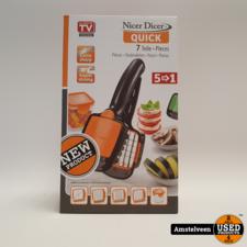 Genius Nicer Dicer Quick - Oranje | Nieuw in Doos