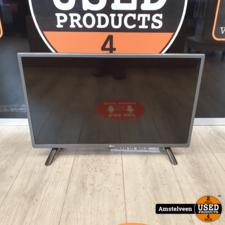 LG LG 28LF491U 28-inch Smart LED TV Zwart/Black   Nette Staat