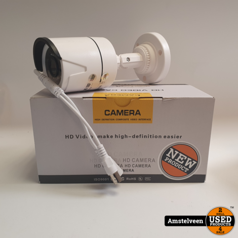 Numenworld CCTV XVI/AHD 2.0MP 1080P HD Night Vision Analoog | Nieuw