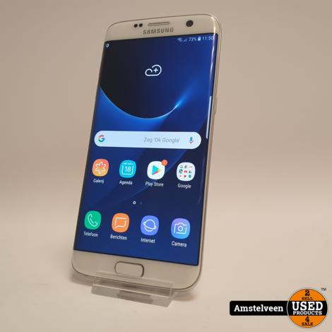 Samsung Galaxy S7 EDGE 32GB Wit/White | Nette Staat