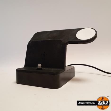 Belkin PowerHouse Docking Station iPhone + Apple Watch Stand Black   Nette Staat