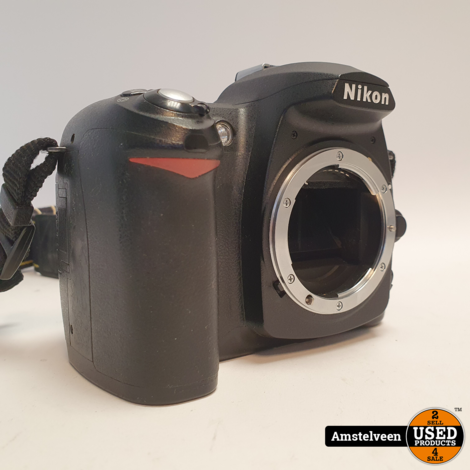 Nikon D50 Body Zwart/Black | incl. Lader & Garantie