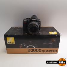 Nikon Nikon D3000 Body + 18-55mm Lens | Compleet in Doos