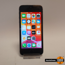 apple iPhone SE 16GB Space Gray | Nette Staat