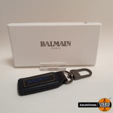 Balmain Leren Sleutel Hanger | Nieuw