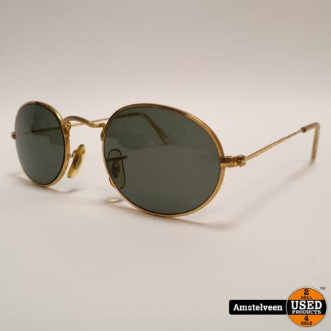 Ray Ban B&L Vintage Zonnebril   in Koker