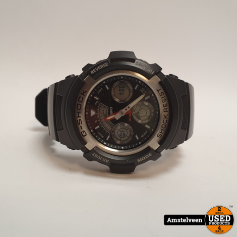 Casio G-Shock AW-590 Horloge Zwart/Black | Nette Staat