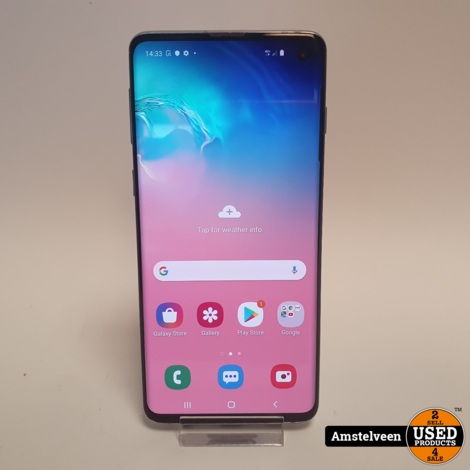 Samsung Galaxy S10 128GB White | Nette Staat